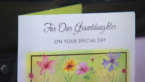 Long lost birthday card holds sweet message from late grandfather