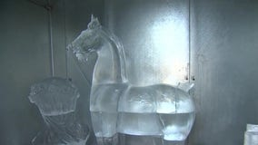 Popular artwork from Minneapolis Institute of Art recreated in ice