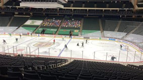 After 10-day pause, Minnesota Wild resumes practice at Xcel Energy Center