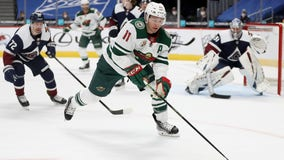 Zach Parise a healthy scratch Wednesday night for first time with Wild