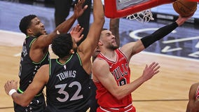 Zach LaVine goes off for 35, Timberwolves lose to Bulls 133-126 in OT