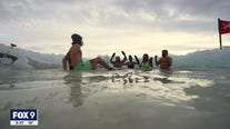 The Submergents group organizes daily dip into icy Minneapolis lake