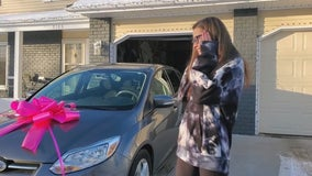 Minnesota mom surprised with free car after Facebook post
