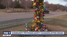 Woodbury residents present petition to change deadly stretch of road