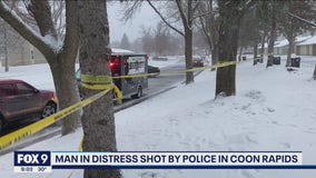 Coon Rapids officers shoot, injure armed man having mental health issues