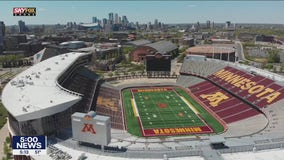 Gophers start spring football practices