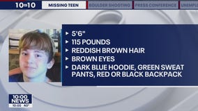 Search to continue overnight for missing Coon Rapids teen