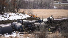 Noisy Plymouth train derailment cleanup expected to last into summer