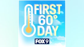 Twin Cities hit 60 degrees for 1st time in 2021