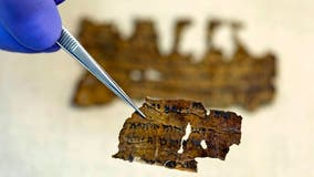 New Dead Sea Scrolls dating back nearly 2,000 years discovered in Israel