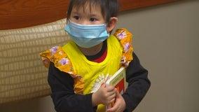 M Health Fairview doctors' book handouts giving young children a head start