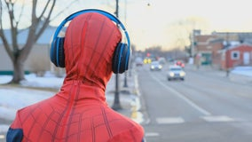 Rockford teenager turning heads with Spiderman-clad struts through town