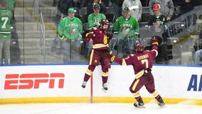 UMD beats North Dakota 3-2 in epic 5 OT battle to advance to Frozen Four