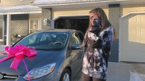Stranger gifts free car to Minnesota mother after crowdfunding campaign