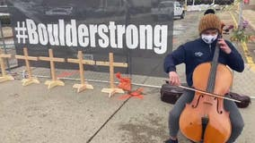 Minnesota survivor of Boulder shooting returns to play cello at memorial