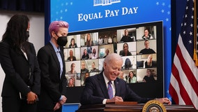 'The pay gap is real': Biden signs proclamation on Equal Pay Day to commit to equal pay for women