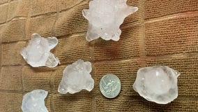 Snow, tornado warnings and hail make for strange spring day in Minnesota
