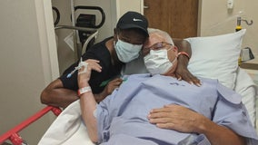 Chance conversation brings strangers together for kidney donation