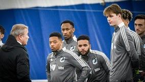 Minnesota United starts full team training 1 week ahead of MLS schedule