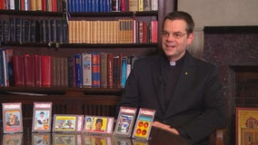 Minnesota priest to sell prized baseball card collection for good cause