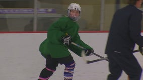 Red Wing JV hockey team steps up for playoff win with varsity squad in quarantine
