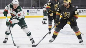 Wild lose third period lead, fall 5-4 in OT to Vegas Golden Knights