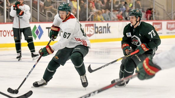 Minnesota Wild's top prospects hit TRIA Rink for Showcase Camp