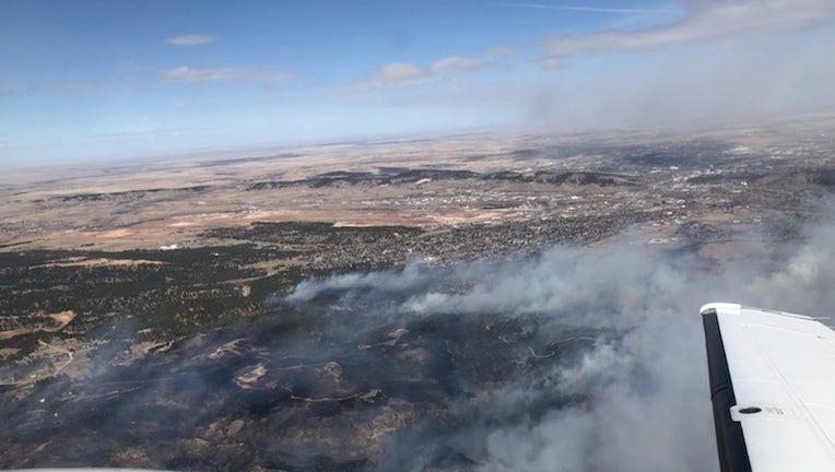 South Dakota wildfire