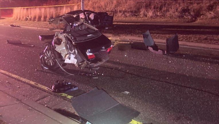 crash in woodbury