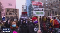 March moves through downtown Minneapolis amid jury deliberations