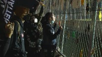 Protests in Brooklyn Center remain calm as Saturday night curfew goes in effect