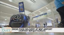 Food delivery droid rolls out at MSP International Airport