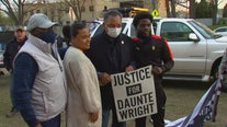 Rev. Jesse Jackson joins protesters in Brooklyn Center for Wright rally