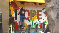 Artists spread messages of hope through art at the Midtown Global Market
