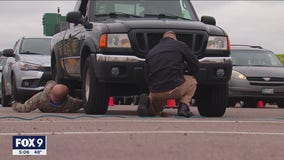 St. Paul police help residents mark catalytic converters as theft of car parts becomes rampant