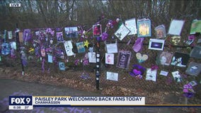 Paisley Park welcomes fans on anniversary of Prince's death