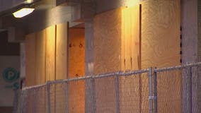 Boards and barricades set to come down this week downtown Minneapolis