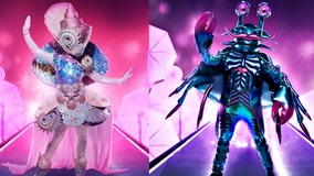 'The Masked Singer': Seashell and Crab scuttled in shocking double reveal