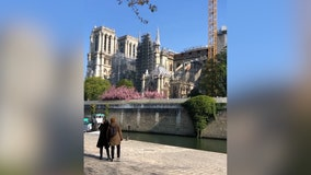 'The cathedral is saved': Construction continues on 2-year anniversary of fire that engulfed Notre Dame