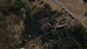 40 acres burned, 3 structures lost in western Wisconsin wildfire