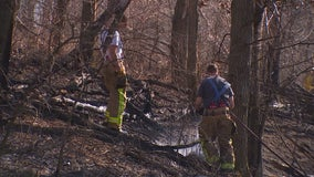 Firefighters face more brush fires on Saturday as dry conditions linger