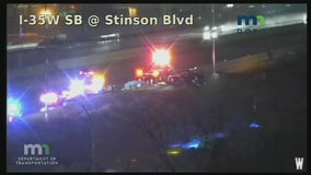 Woman dies after crash on I-35W in Minneapolis