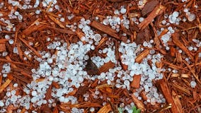Rumbling thunderstorms bring hail across Twin Cities area