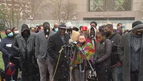 Families of George Floyd, Daunte Wright call for police accountability