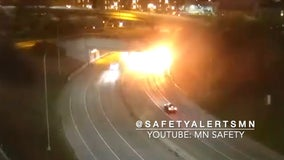 Two dead after fiery crash at Lowry Hill Tunnel in Minneapolis