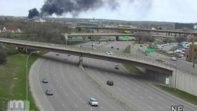 Crews put out scrap metal fire in Minneapolis