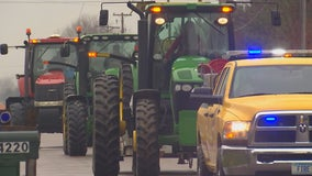119 tractors roll through Randolph in honor of boy killed in ATV crash
