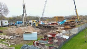 Robbinsdale sets off detonations to build new water treatment site