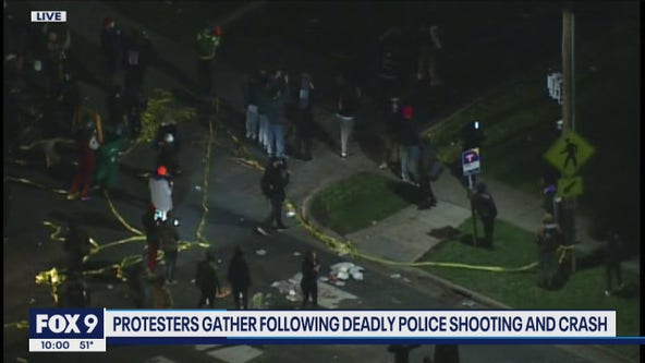 Man dies after being shot by police in Brooklyn Center; protests ensue across city
