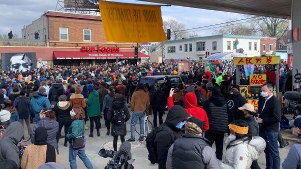 Celebrations underway in Minneapolis after Derek Chauvin guilty verdict